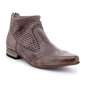 NIB Bed Stu Bryanna Western Cut Out Ankle Bootie